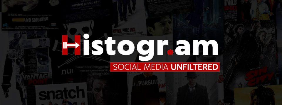 هیستوگرام، شبکه اجتماعی انتشار و پخش ویدیوهای یوتیوب