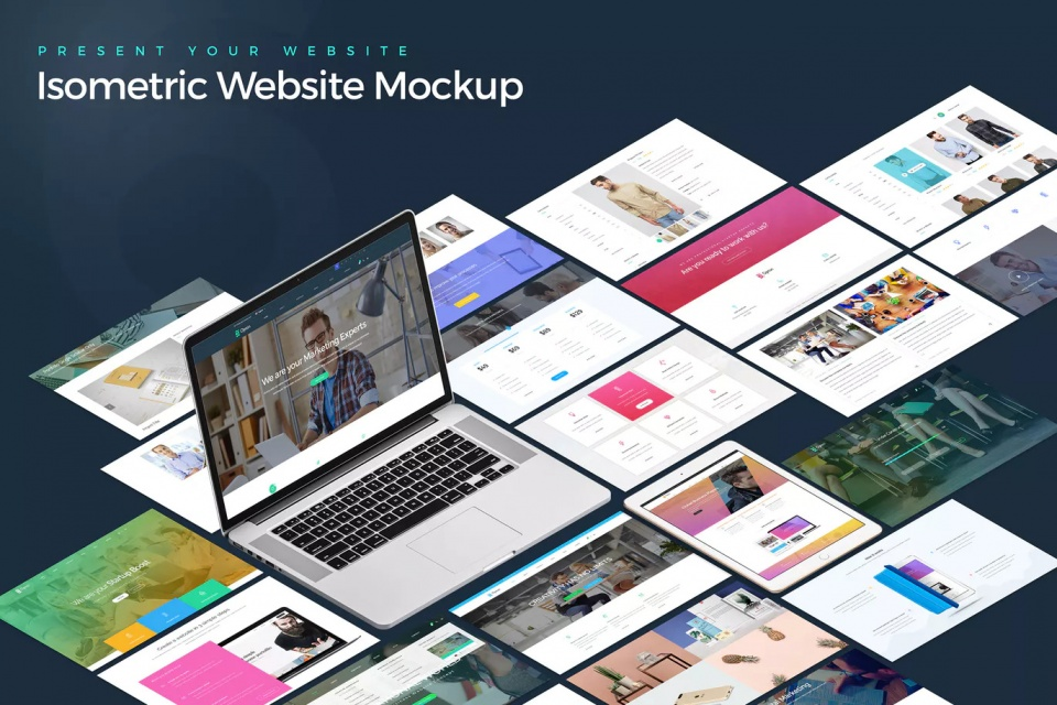 طراحی سایت شرکتی / تیدا وب