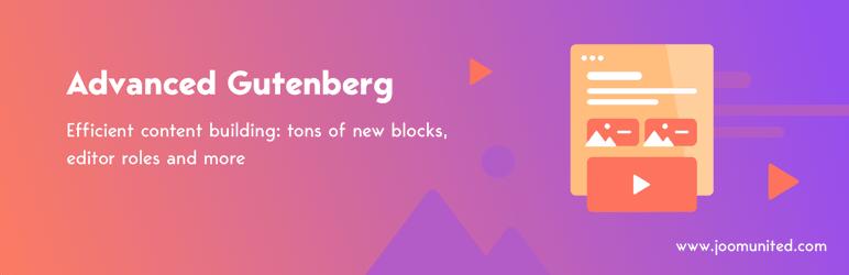 افزونه Advanced Gutenberg / توسعهدهنده صفحهساز گوتنبرگ