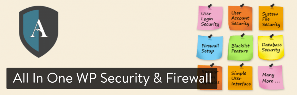 افزونه امنیتی All In One WP Security & Firewall