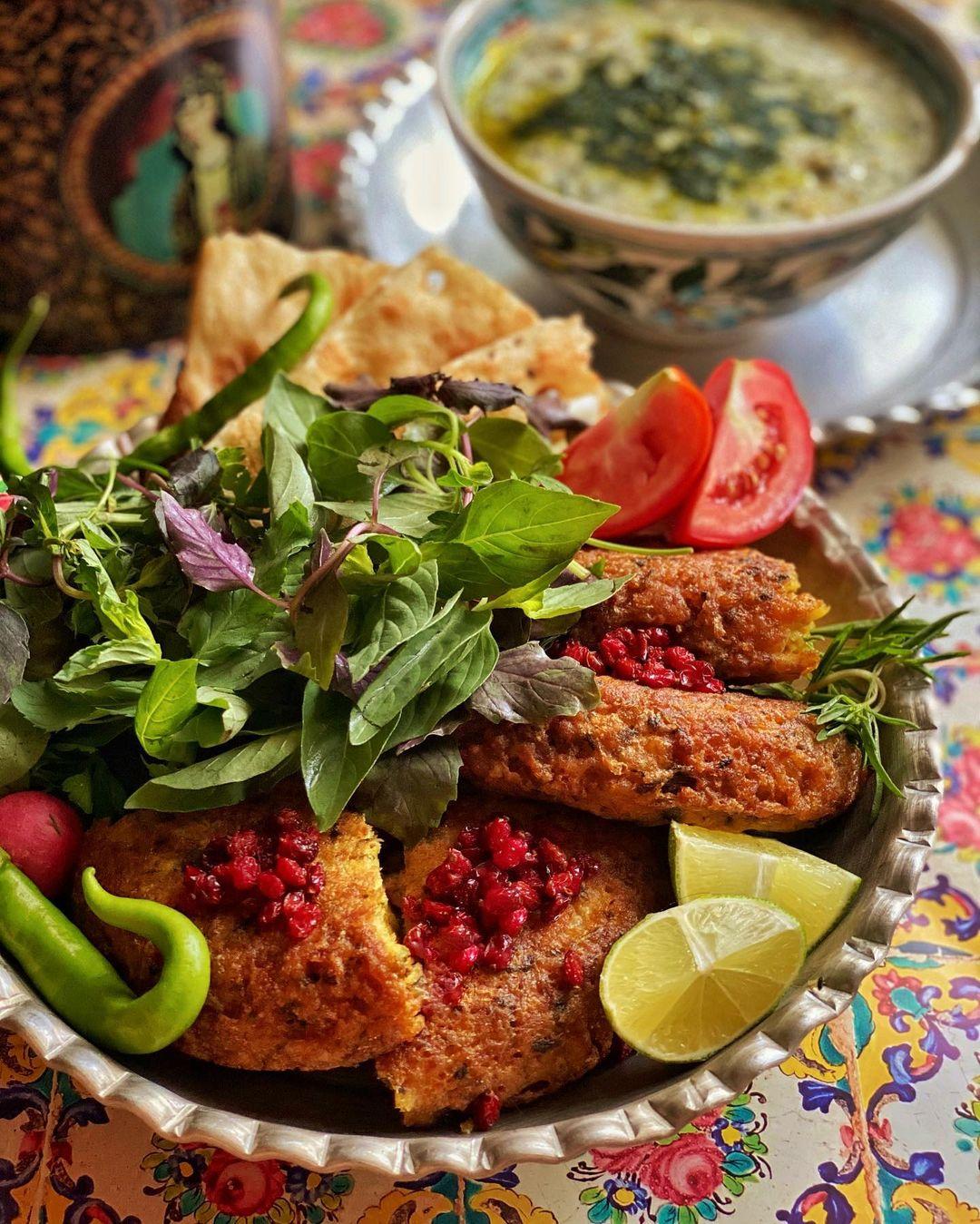 کوکو گوشت اردبیل (غذای اردبیلی)