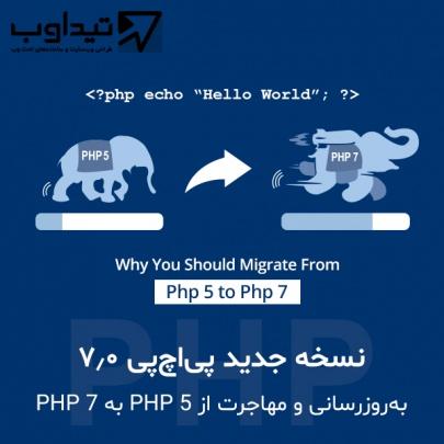 مهاجرت از PHP 5 به PHP 7