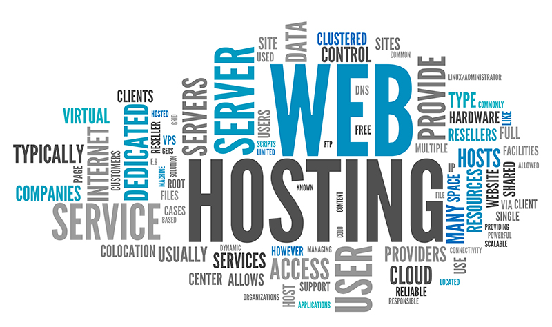 ابر برچسب وب هاستینگ / Web Hosting Tag Cloud
