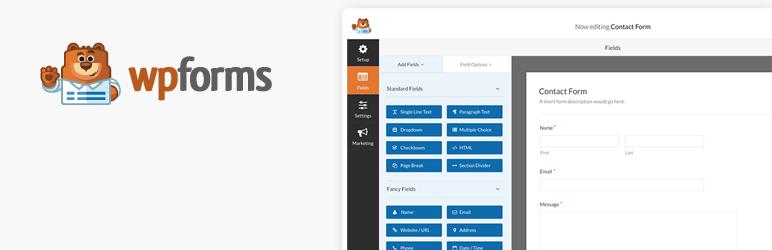 ایجاد فرم با افزونه فرمساز WPForms